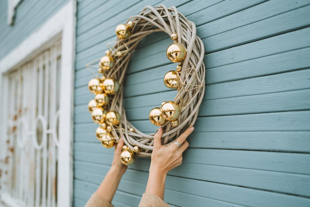 Where to Put Your Christmas Wreath